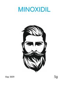 Миноксидил (Minoxidil) пептид для волос 10 гр
