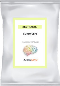 Cordyceps (гриб Кордицепс mannitol 7%) 50 грамм